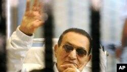 Hosni Mubarak, aprilie 2013