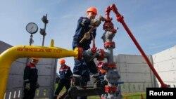 لولههای گاز در اوکراین
