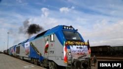 خط آهن خواف- هرات بین افغانستان و ایران