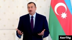 Is Azerbaijani President Ilham Aliyev weighing his options for gas exports?