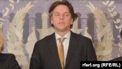 Министр иностранных дел Нидерландов Берт Кундерс.