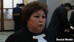 Судья Верховного суда Башкортостана Клара Тазериянова. Фото из Facebook Андрея Потылицына