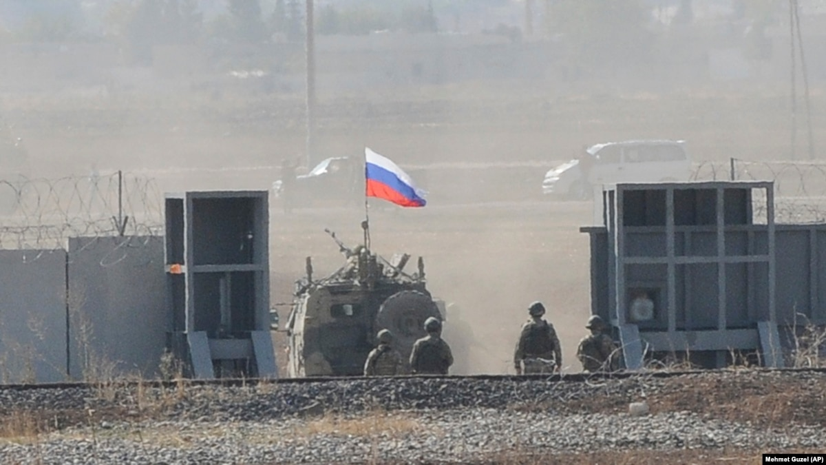 Russia Sets Up Helicopter Base In Northeast Syria After U.S. Withdrawal