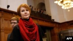 Намесьніца міністра замежных спраў Украіны Алена Зеркаль
