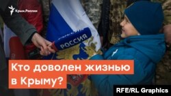 Жизнью довольны, в завтрашнем дне не уверены | Радио Крым.Реалии