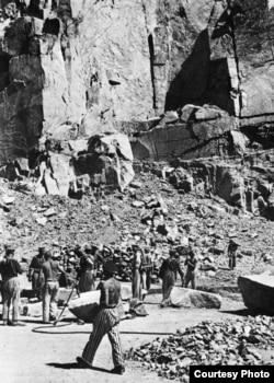 Каменоломня в Маутхаузене