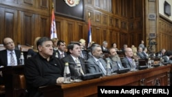 Nova-stara vlada u Skupštini Srbije, 14. mart 2011.