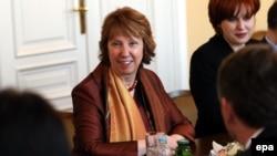 Catherine Ashton në Sarajevë