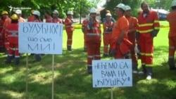 Radnici Ljubije na ulicama protiv prodaje rudnika