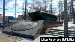 Памятник ветеранам боевых действий второй половины 20-го века. Новосибирск