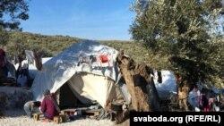 Грекиянын Лесбос аралындагы мигранттардын лагери. 2020-жылдын февралы.
