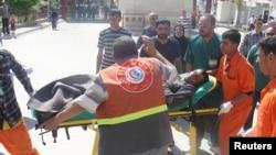 یکی از زخمیشدگان درگیریهای روز سهشنبه کرکوک
