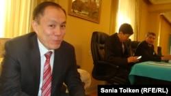Временный поверенный в делах Казахстана в Армении Канат Хасенов. Ереван, 26 апреля 2015 года.