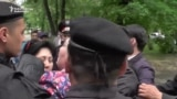 Kazakh Police Break Up Activists' News Conference