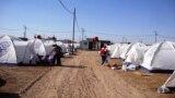 مخيم للنازحين في ميسان