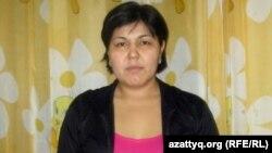 Алия Нысамбаева, мама Данияра Сарсекенова. Алматы, 30 января 2013 года.