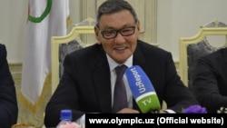 Гафур Рахимов, AIBA президенттігіне кандидат өзбекстандық бизнесмен.