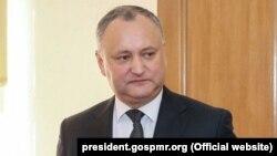 Игорь Додон, Молдова президенті.