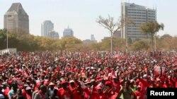 Митинг в Зимбабве. 2013. Архивно-иллюстративное фото