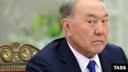 Президент Казахстана Нурсултан Назарбаев. Санкт-Петербург, 26 декабря 2016 года.