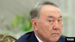Президент Нурсултан Назарбаев в Санкт-Петербурге. 26 декабря 2016 года.