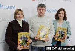 Сергій Колесніков на презентації дитячого журналу «Вєжлівиє чєловєчкі», лютий 2016 року