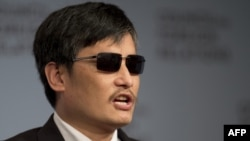 Chinese dissident and civil rights activist Chen Guangcheng