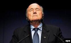 Joseph Blatter la o conferință de presă