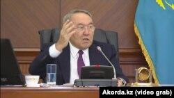 Нурсултан Назарбаев Астанадагы жыйында, 30-январь 2019-жыл.