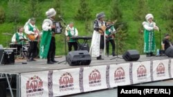 """""""Ватан"""" этнопаркын халыкка ачу тантанасы"""