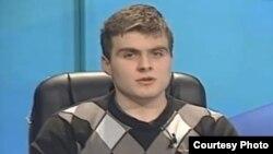 """Кирил Спироски, претседател на Студентскиот парламент на Универзитетот """"Св. Кирил и Методиј"""" во Скопје."""