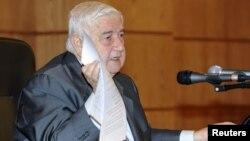 Сирискиот министер за надворешни работи Валид Ал Муалем.