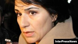 Манана Манджгаладзе, пресс-секретарь президента Грузии Михаила Саакашвили.