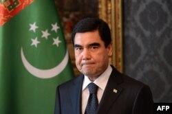 Türkmənistan prezidenti Gurbanguly Berdymukhamedov