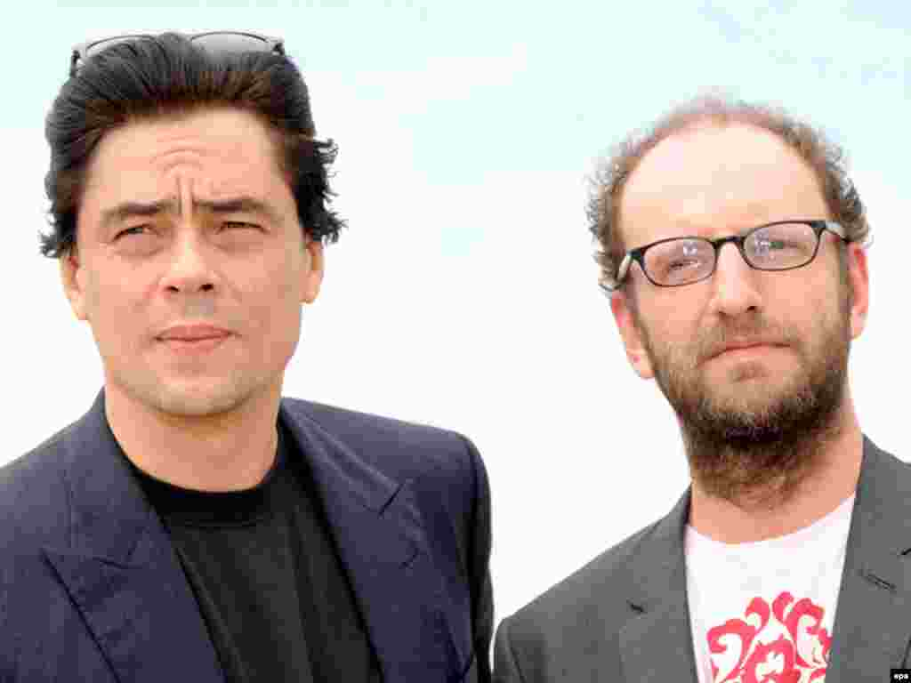 France - Puerto Rican actor Benicio Del Toro (L) and US director Steven Soderbergh at the 61st edition of the Cannes Film Festival, 22May2008