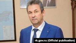Евгений Рукавишников, бывший министр топлива и энергетики российского правительства Крыма