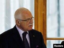 Президент Чехії Вацлав Клаус перебуває на другому терміні президентства
