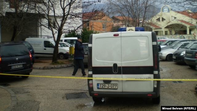 Policija na licu mesta, 22. januar 2013.