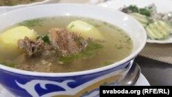 Традыцыйны суп з бараніны