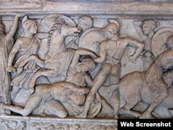 Yunanların amazonlara qarşı döyüşü