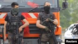 Түркияның полиция жасағы (Көрнекі сурет).