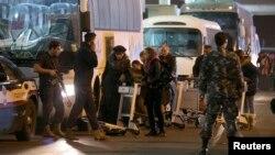 جنود في محيط مطار بيروت الدولي