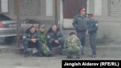 Таджикские пограничники. Апрель 2014 года