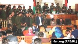 Pamje nga salla e gjykatës në Kabul në rastin e vrasjes së vajzës Farkhunda