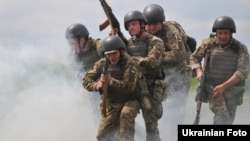 Навчання українських військових на Яворівському полігоні, 4 червня 2016 року