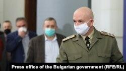 Председателят на Националния оперативен щаб Венцислав Мутафчийски