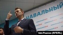 Алексей Навальный Казанда матбугат очрашуында
