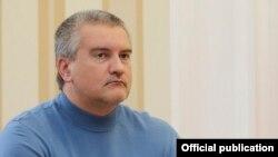 Російський голова Криму Сергій Аксьонов