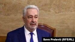 """Zdravko Krivokapić (na fotografiji, 29. jul 2021.) osudio je """"brutalne šovinističke uvrede"""""""