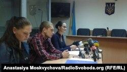 Сергій Олійник під час судового засідання в Голосійвському районному суді Києва, 14 вересня 2017 року